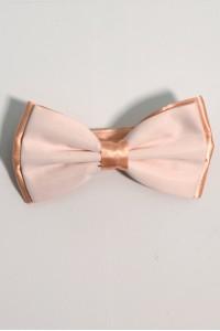 Розовая мужская однотонная бабочка