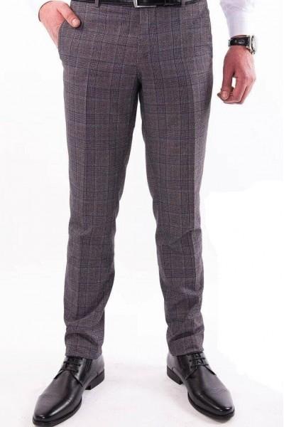 Коричневые мужские брюки