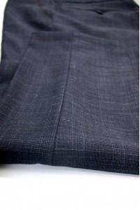 Тёмно-синие мужские брюки в синюю клетку 2016 (SYLVESTER-552O)