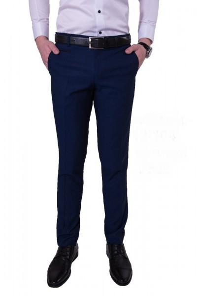 Тёмно-синие мужские брюки