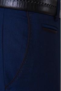 Тёмно-синие мужские брюки casual 2302 MEYLI