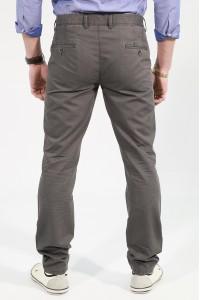 Серые мужские брюки чинос BANKO (A-GREY)