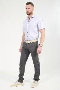 Серые мужские брюки чинос BANKO (K-GREY)
