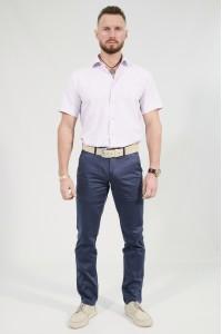 Синие мужские брюки чинос MONACO (736)