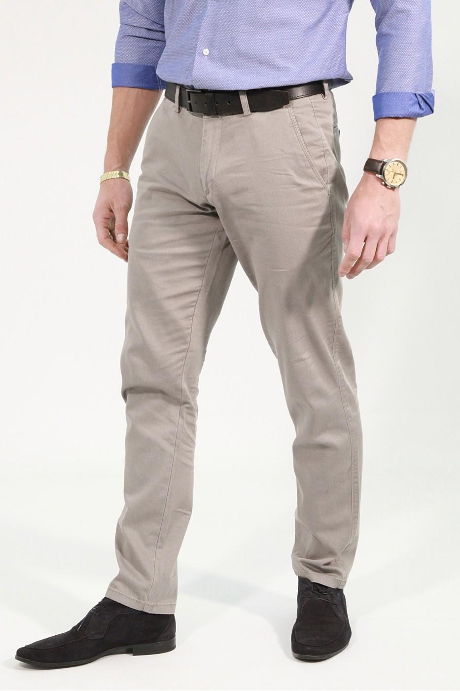 Бежевые мужские брюки чинос PABLO (744)
