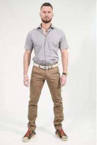 Светло-коричневые мужские брюки чинос RUBY (142)