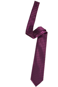 Розовый мужской галстук в розовый квадрат с рисунком