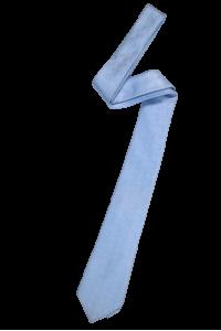 Голубой мужской галстук с голубой фактурой