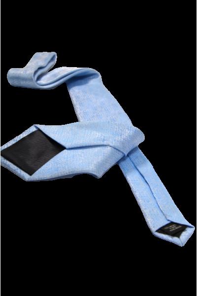 Голубой мужской галстук