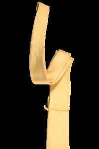 Желтый мужской галстук в жёлтую клетку 2