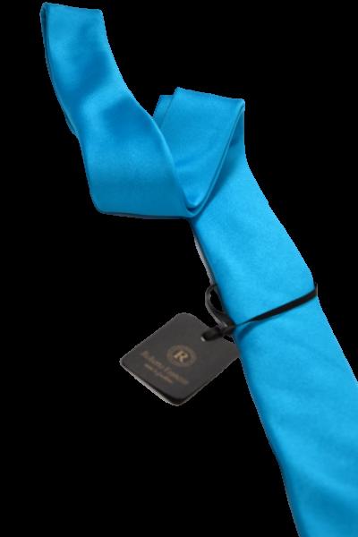 Бирюзовый мужской галстук 3