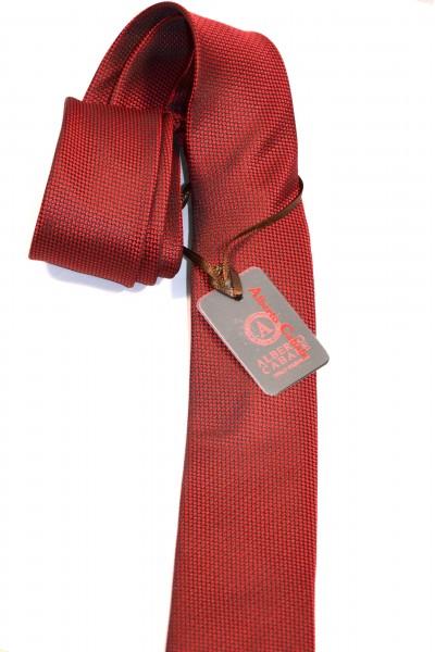 Красный мужской галстук