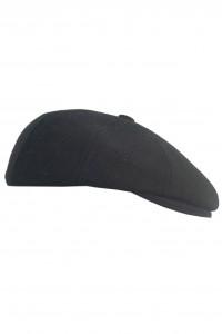Чёрная мужская кепи 002 (JAKE-TK18)