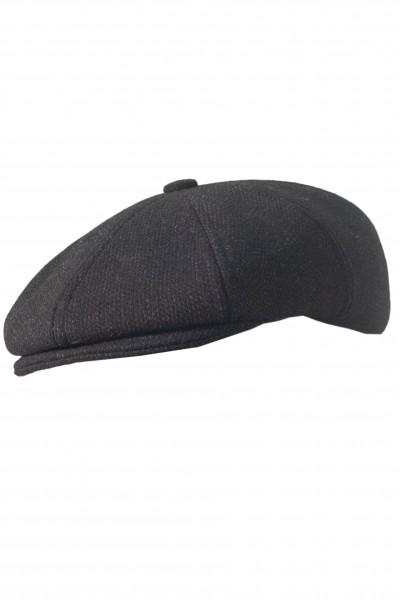 Чёрная мужская кепи