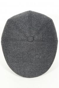 Тёмно-серая мужская кепи 005 (JENNI-TK15)