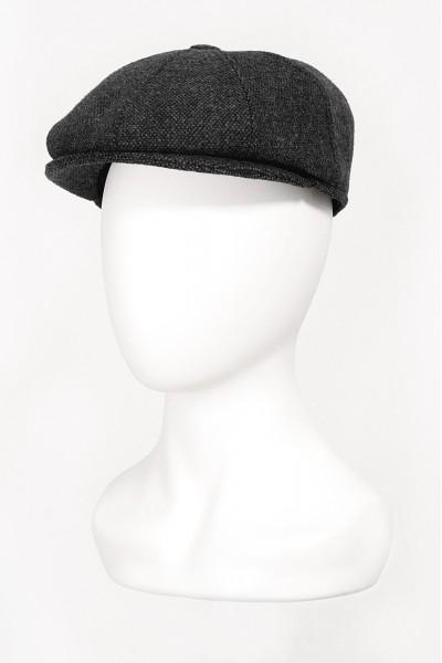 Тёмно-серая мужская кепи