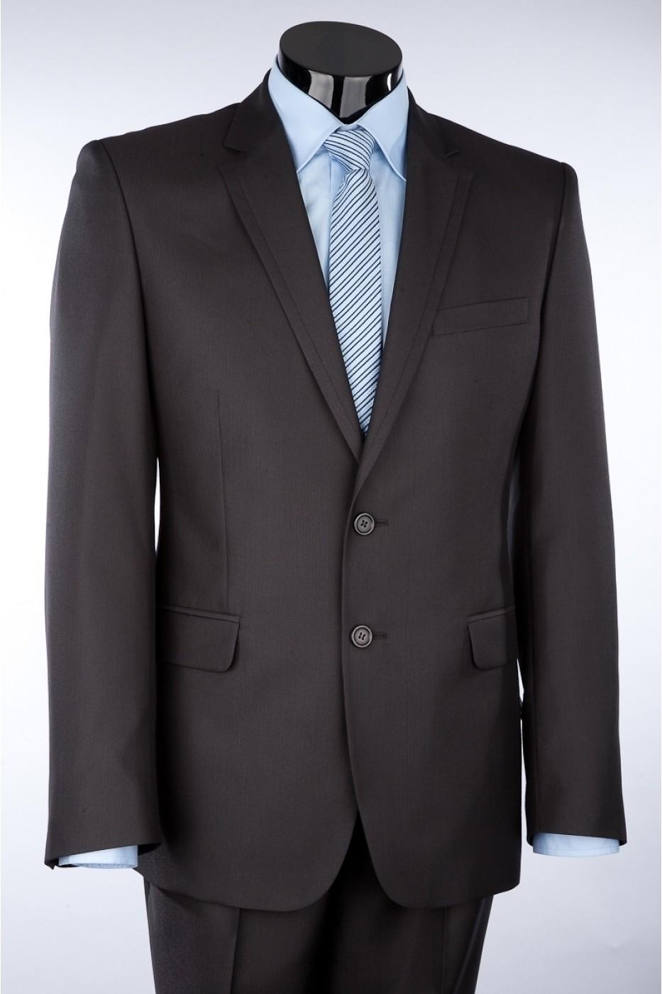 Тёмно-серый мужской костюм 0121*M EPOS LUX