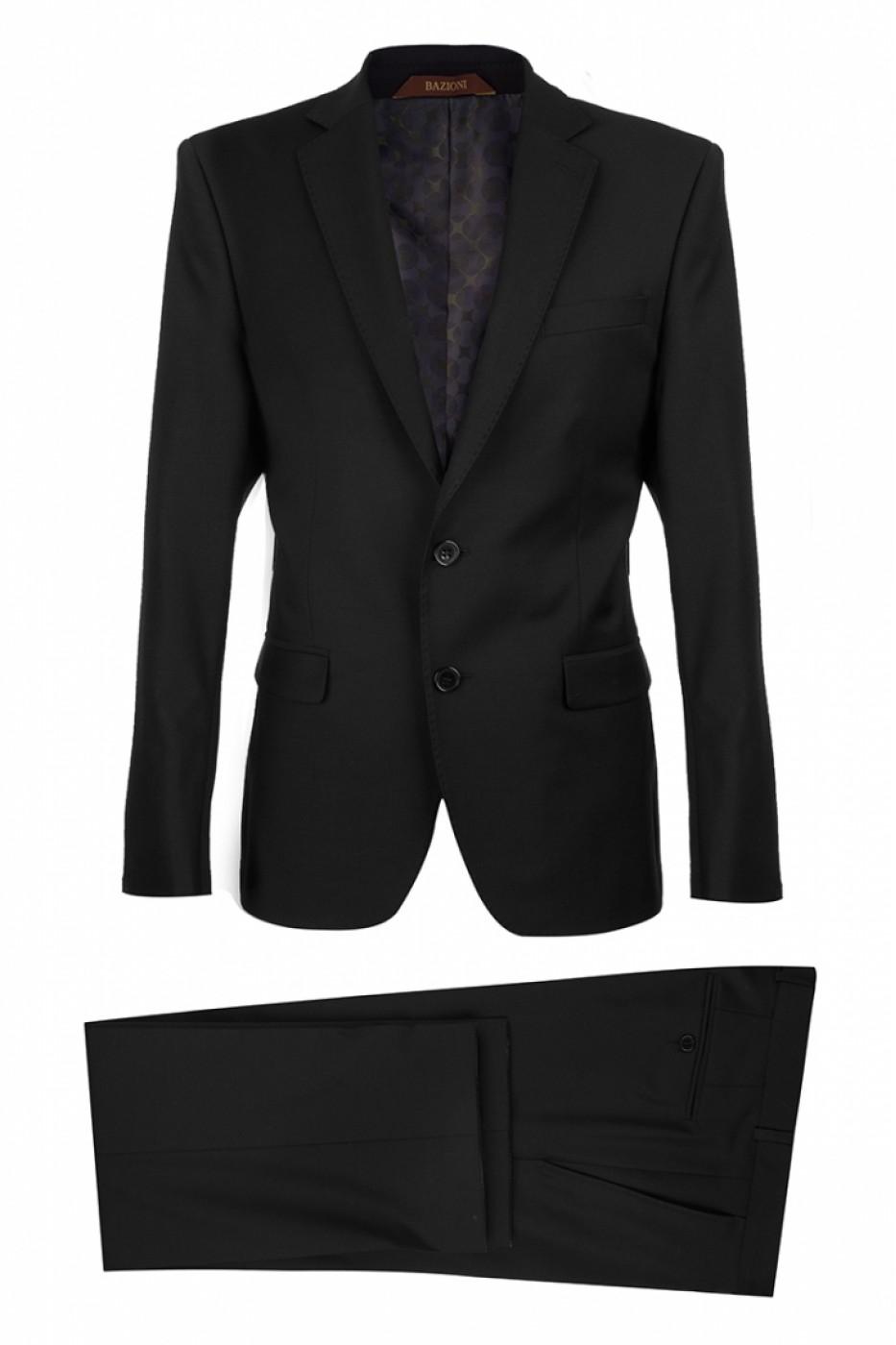 Чёрный мужской костюм 0121*S JAGUAR LUX