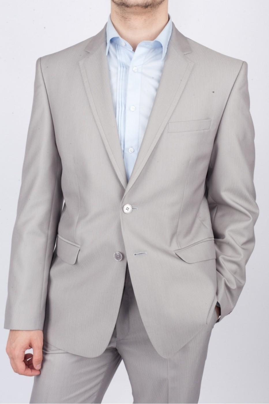 Светло-серый мужской костюм 0421*M EPOS