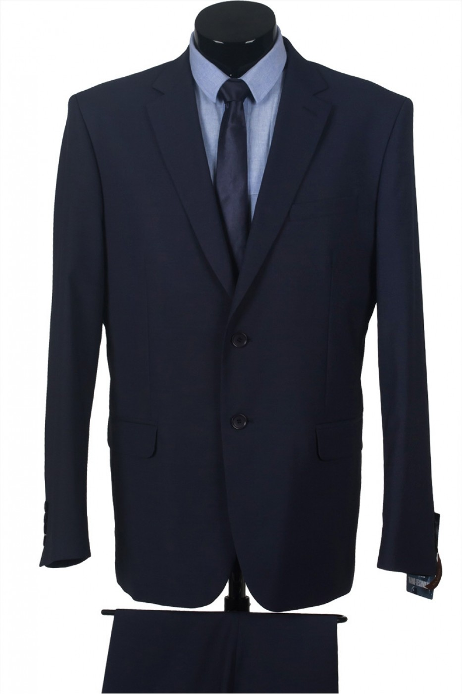 Тёмно-синий мужской костюм 1121*M BUSTO LUX