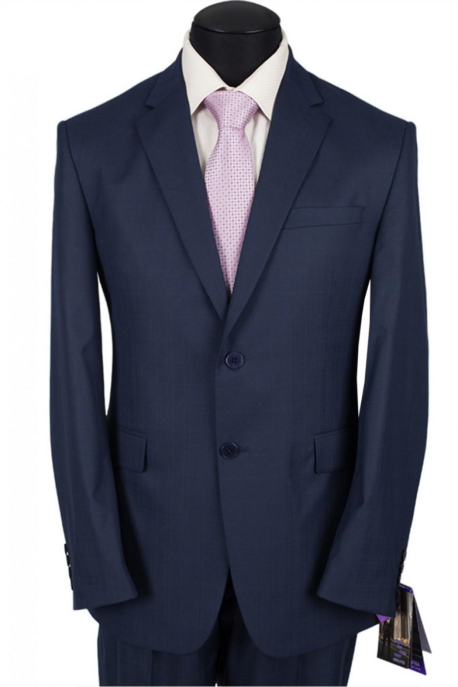 Тёмно-синий мужской костюм 1221*IT VERDI