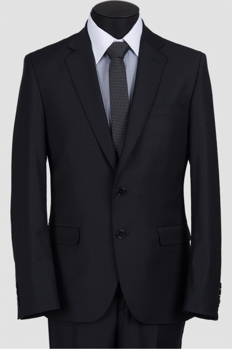 Чёрный мужской костюм 1221*M POINT LUX