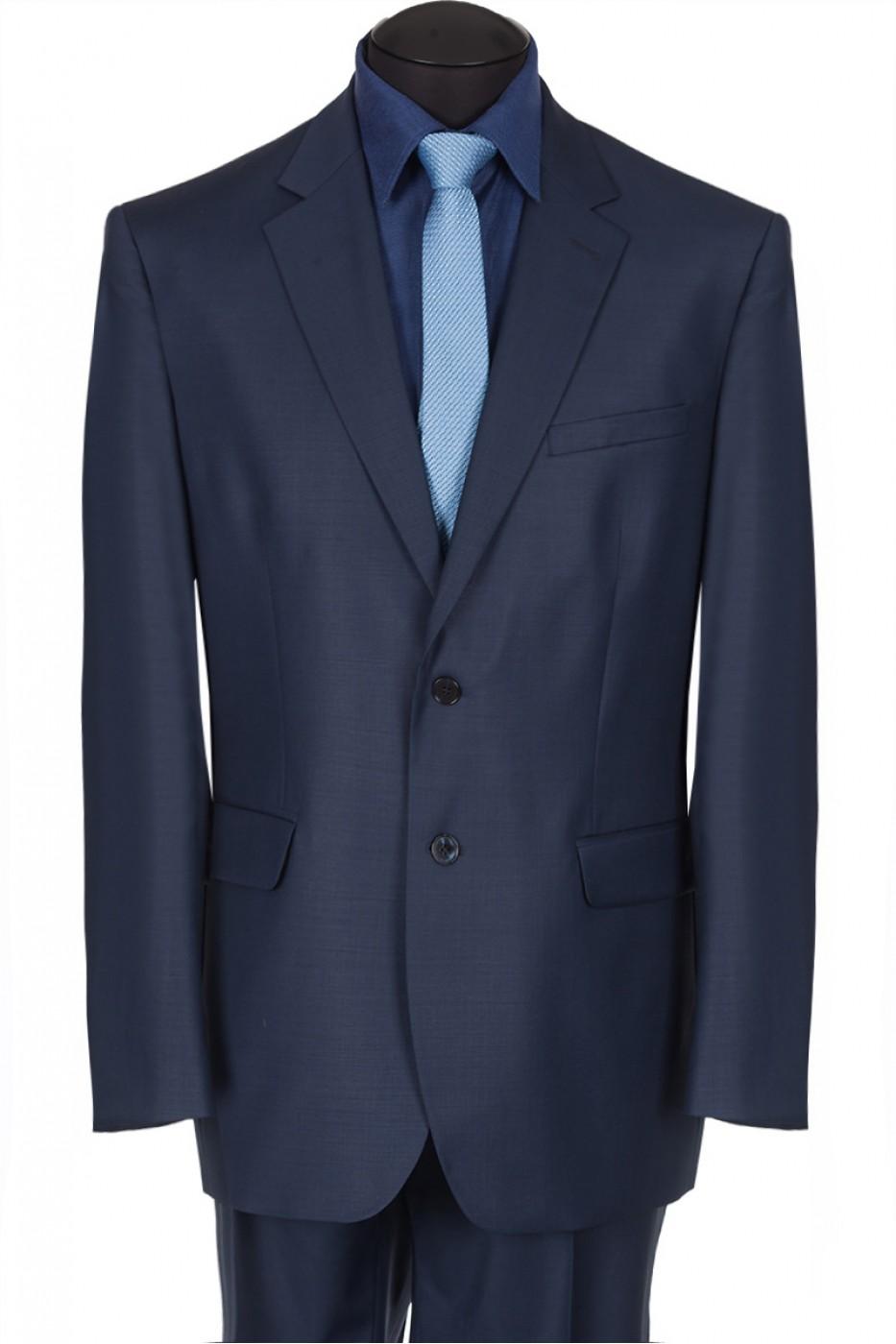 Тёмно-синий мужской костюм 1321*S JAGUAR LUX