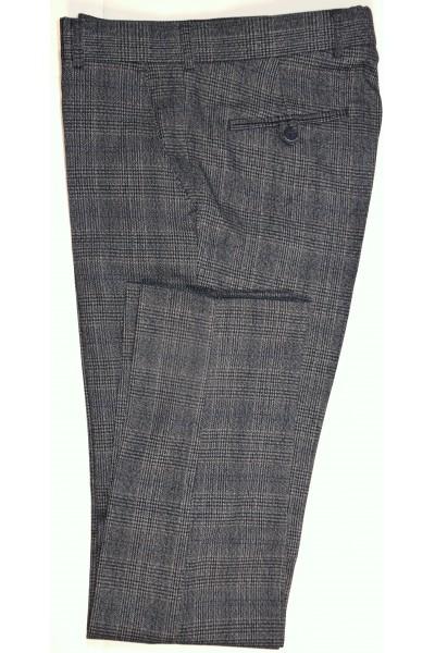 Тёмно-серые мужские брюки