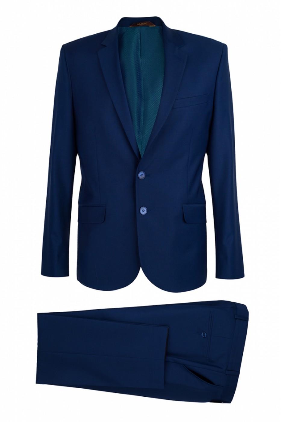 Тёмно-синий мужской костюм 1521*S POINT LUX
