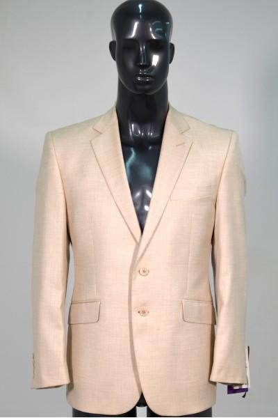 Бежевый мужской костюм