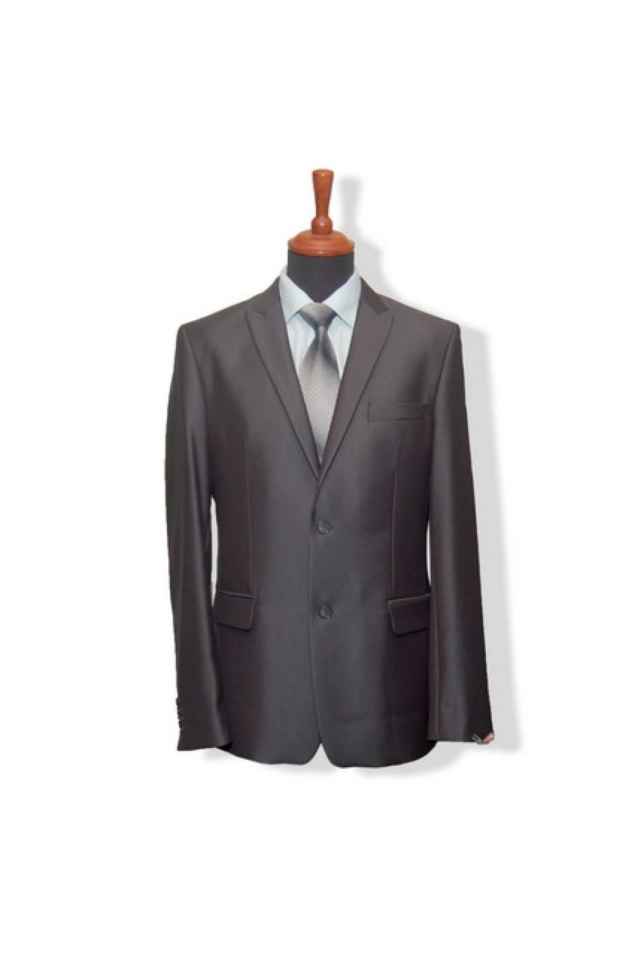 Тёмно-коричневый мужской костюм VIDO RAFT 3