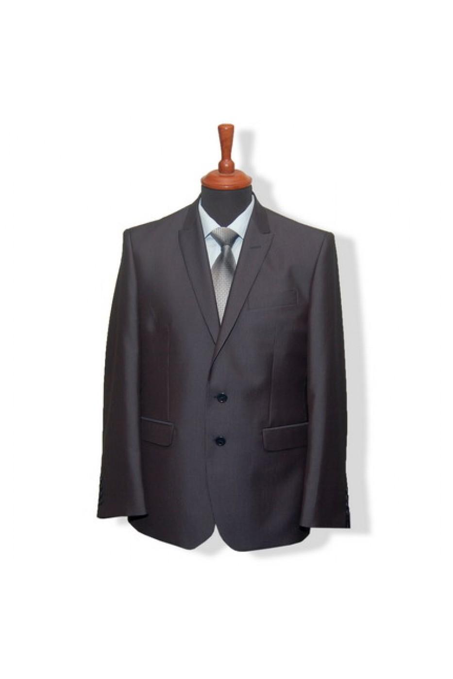 Чёрный мужской костюм ELDORADO G65