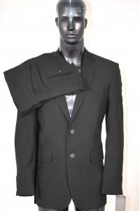 Чёрный мужской костюм VARIALT 392