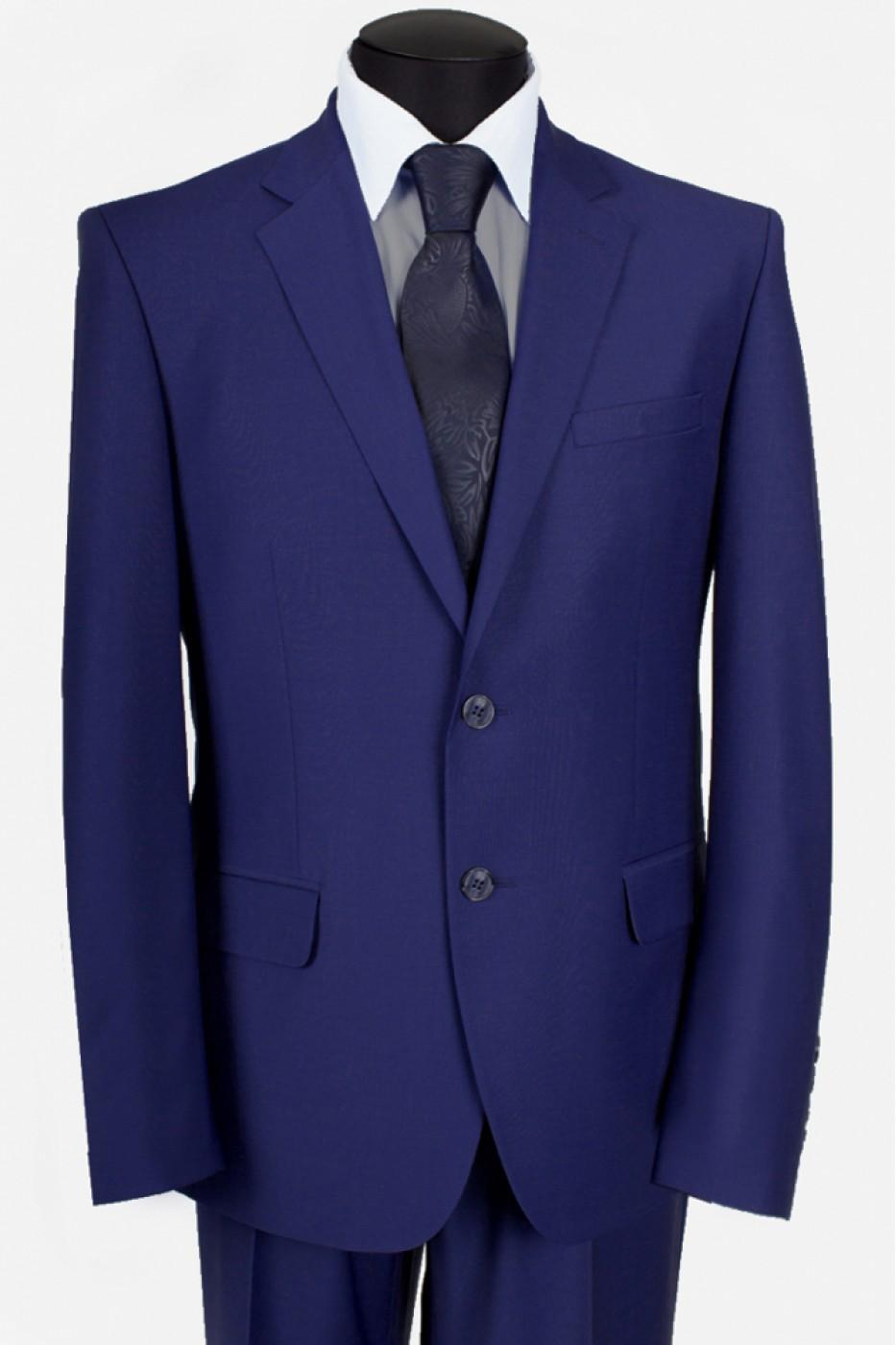 Тёмно-синий мужской костюм 5421*M POINT LUX