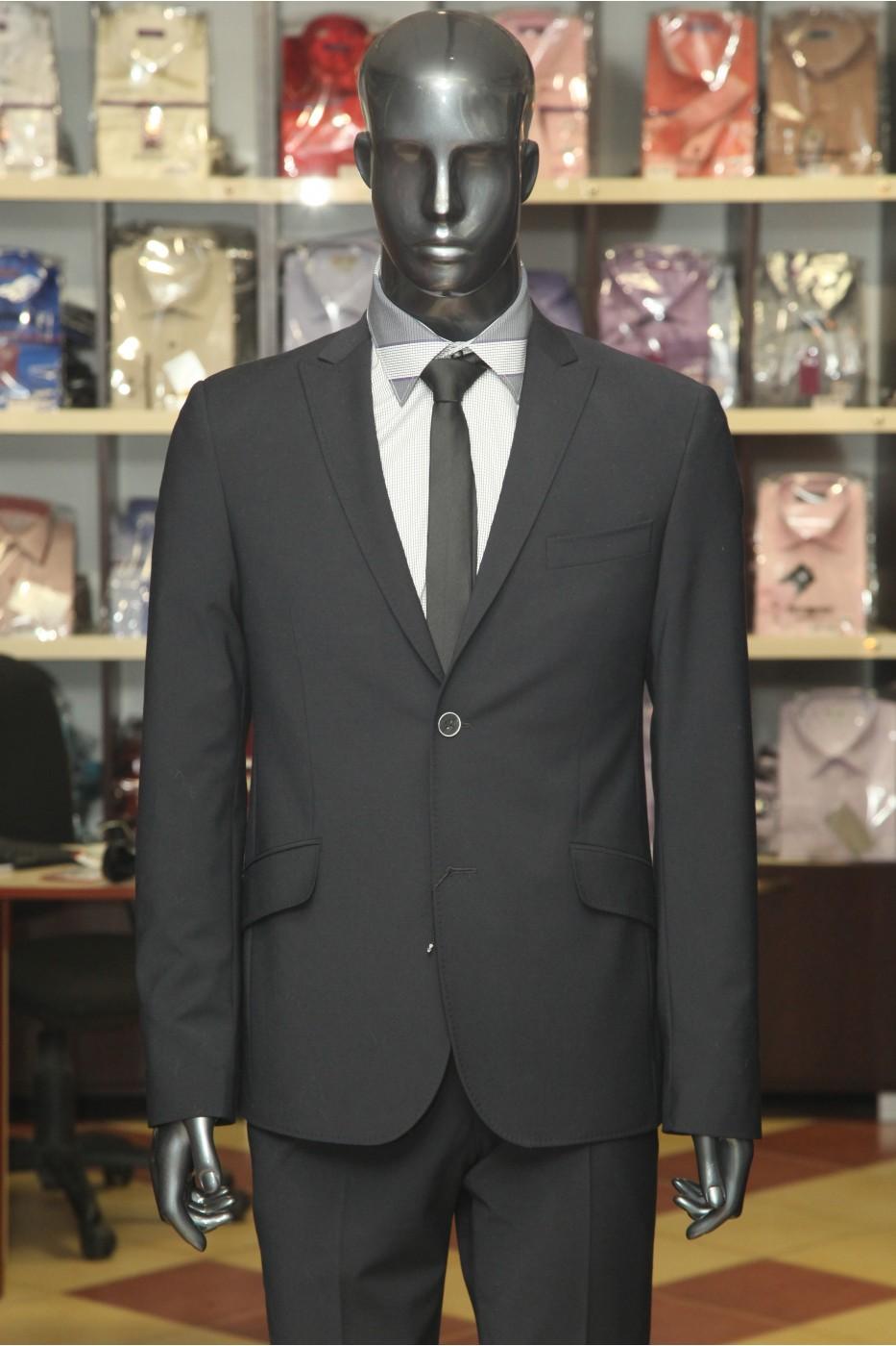 Чёрный мужской костюм ELDORADO