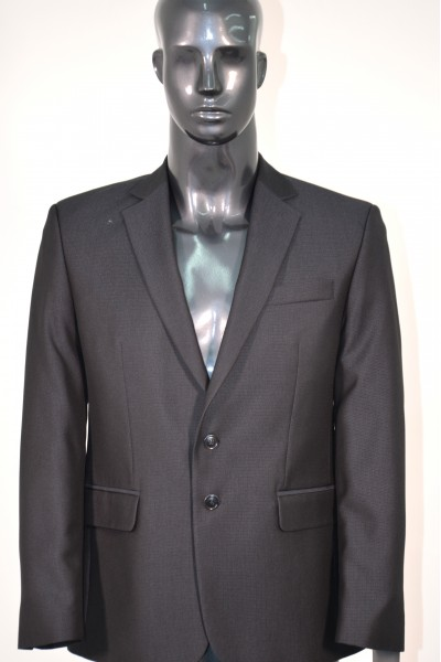 Тёмно-синий мужской костюм