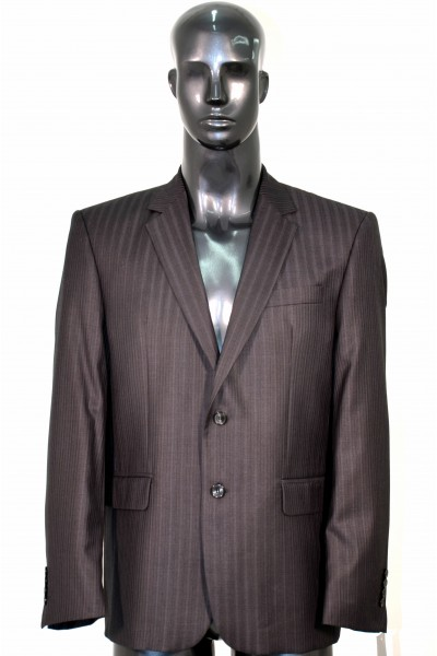 Тёмно-серый мужской костюм