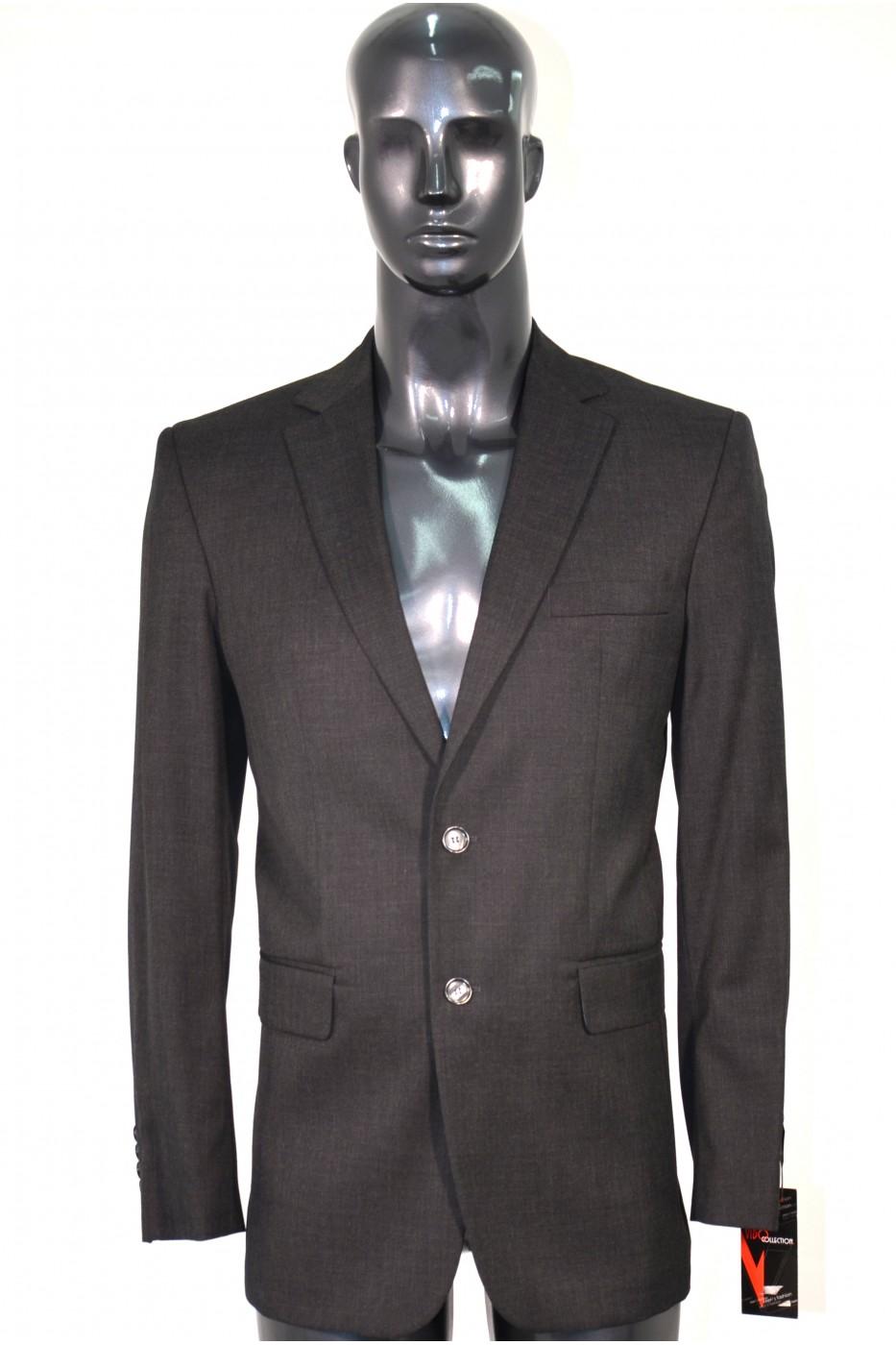 Тёмно-серый мужской костюм КОНСТАНТИН