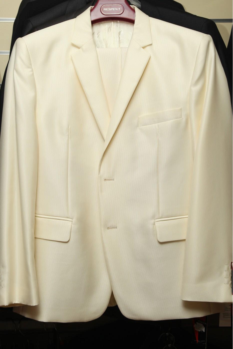Бежевый мужской костюм VIDO GALAXY