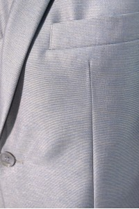 Cерый мужской костюм VIDO RONALDO