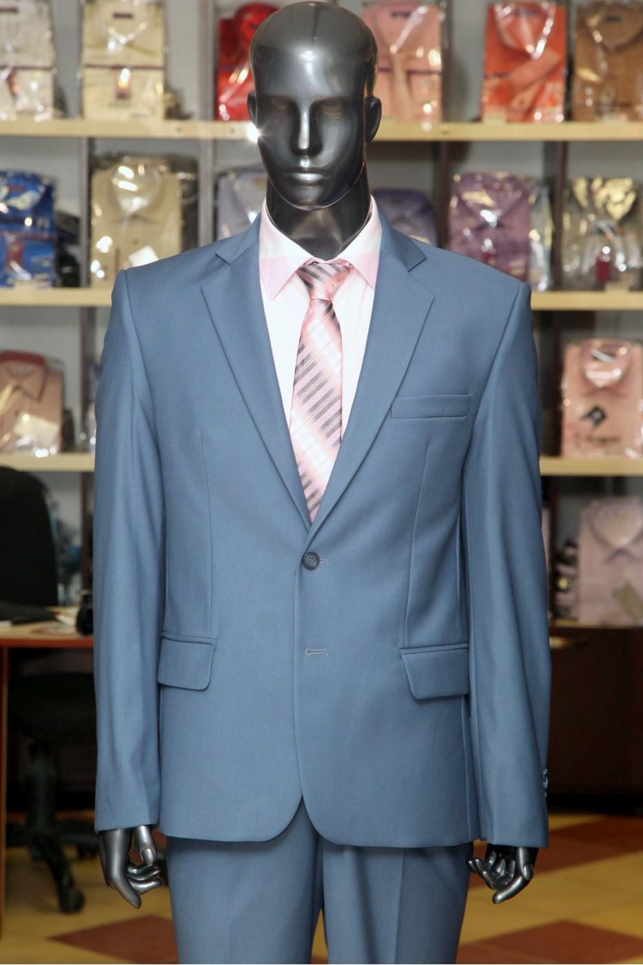 Синий мужской костюм VIDO Фэшн
