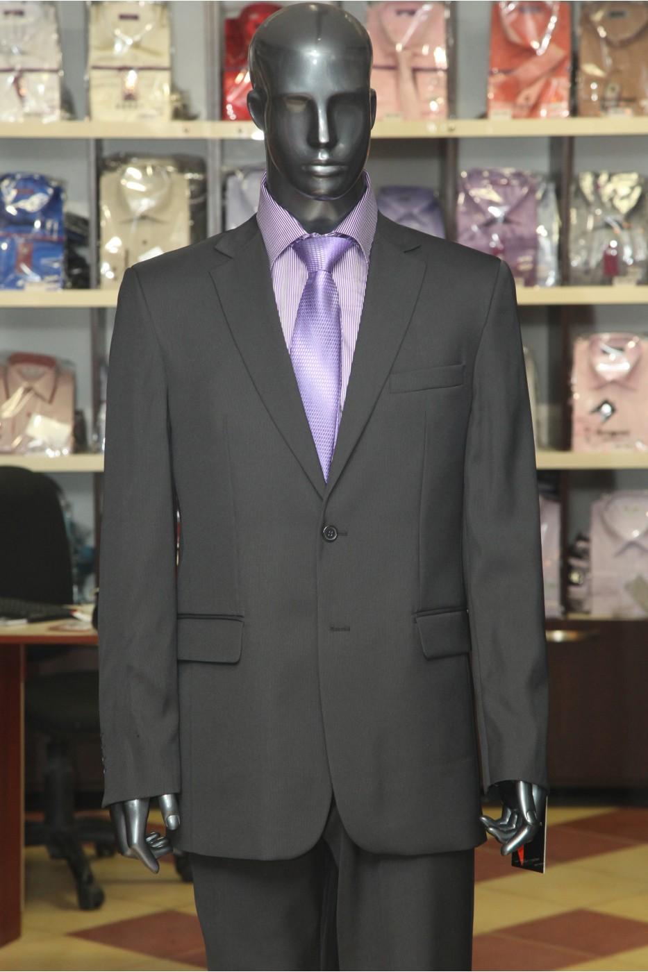 Чёрный мужской костюм VIDO Адриан