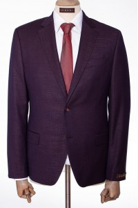 Бордовый мужской костюм двойка DIBONI DP 4722