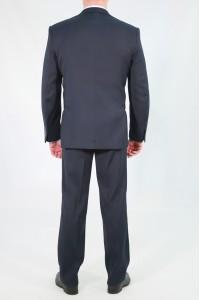 Чёрный мужской костюм 662 (WALTER-SUD2KFU)