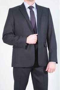 Чёрный мужской костюм 793 (NESTOR-157/550)