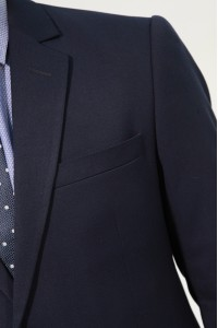Черный мужской костюм 835 (DEXTER-162550)