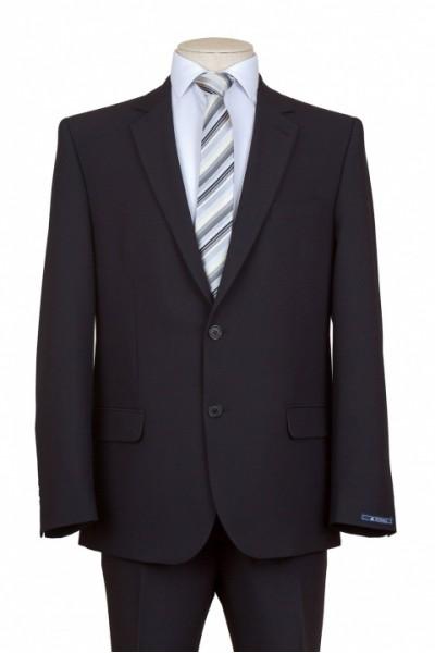 Чёрный мужской костюм