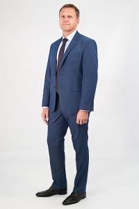 Синий мужской костюм 577 (CADIZ-UV5-KFU-U)