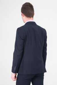 Чёрный мужской костюм 726 (RICK-ITUV5BN552)
