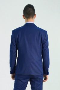 Синий мужской костюм 736 (SCOTT-113552)